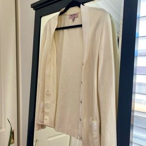 Juicy Couture cream cardigan